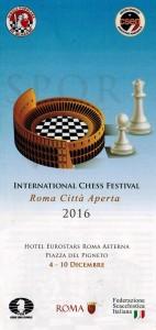 Volantino torneo di scacchi
