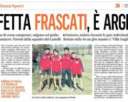 La staffetta RCF – Roma Sud sfiora l'oro